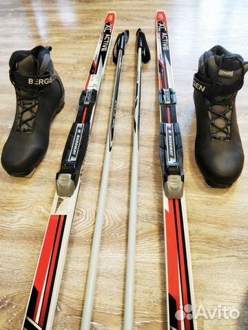 Лыжи беговые fischer 200см р43 как новые комплект— фотография №1. Адрес   Санкт-Петербург ... 26e6bf5a53b
