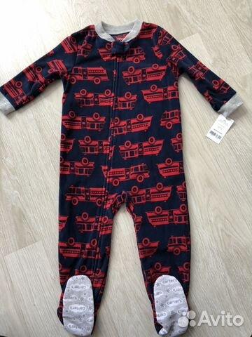 Пижама флис Carters  20caa8c782fcc