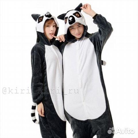 Пижама кигуруми Лемура  fbd0ad2accbad