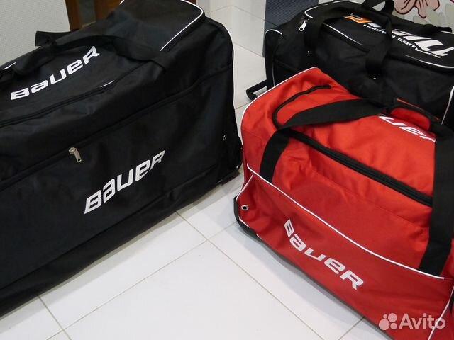 d3b21470f9af Bauer баул хоккейный спортивная сумка на колесах | Festima.Ru ...