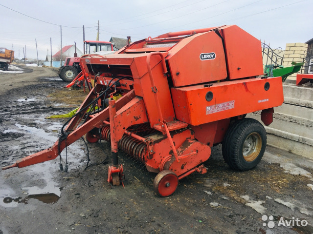 Imported press Balers Claas, Welger, Jo
