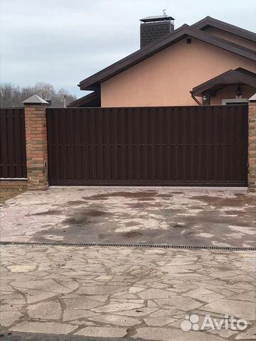 Ворота откатные (сдвижные, калитка) 89177444999 купить 1