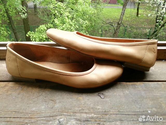 separation shoes 0e15b 254b2 Балетки кожаные Caprice 38 размер б/у купить в Москве на ...