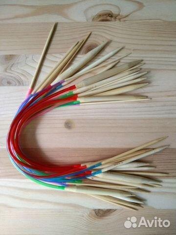 спицы для вязания круговые 40 см купить в санкт петербурге на Avito