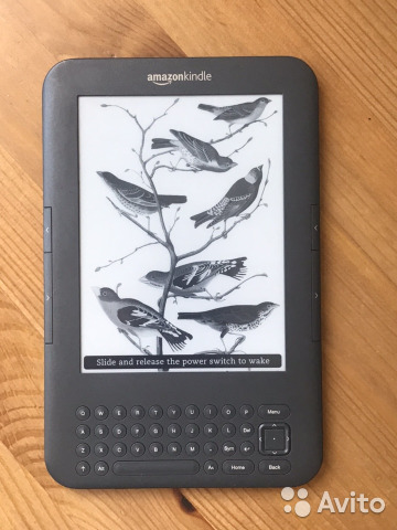 Электронная книга Kindle Keyboard 3G WiFi