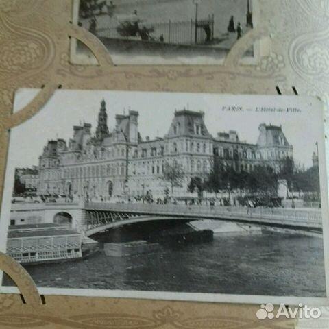 Виды Парижа. Дореволюционная открытка 89219995491 купить 2