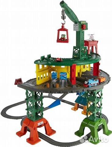 Железнодорожная станция fisher-price tomek FGR22 89062132153 купить 4