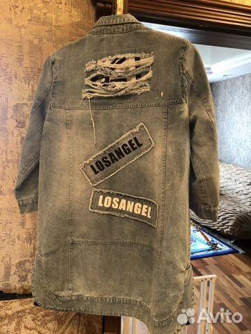 Куртка джинсовая 89021703087 купить 2