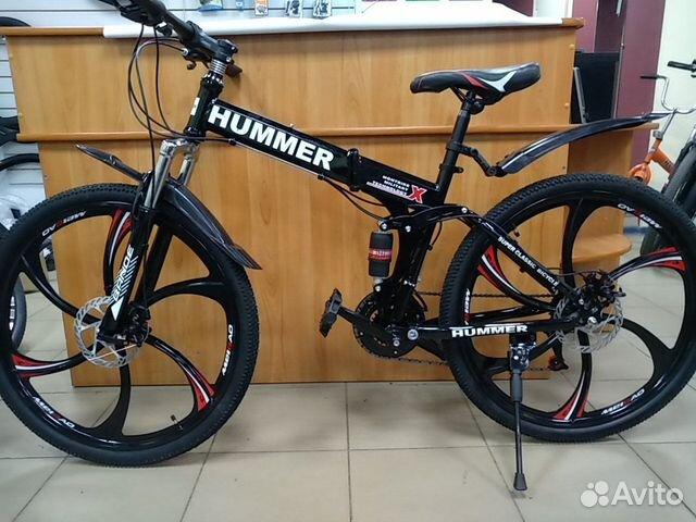 89527559801 Велосипед Хаммер на литых дисках