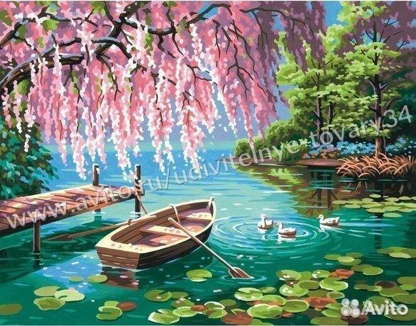 84942303606  Картины по номерам Алмазная мозаика