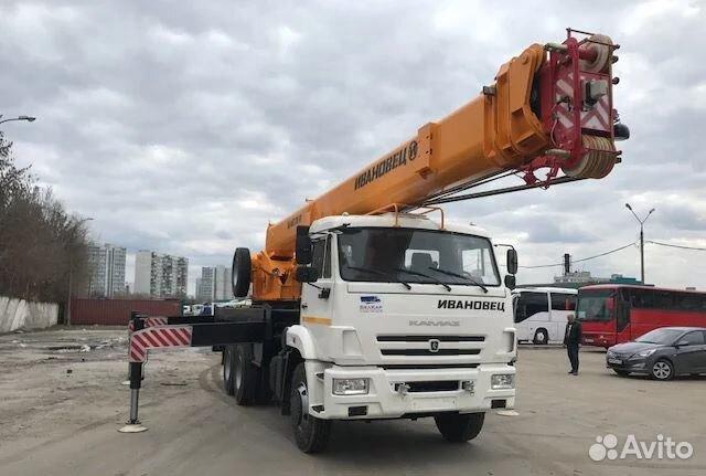 Услуги автокрана 25 тонн 31м Аренда крана  купить 1