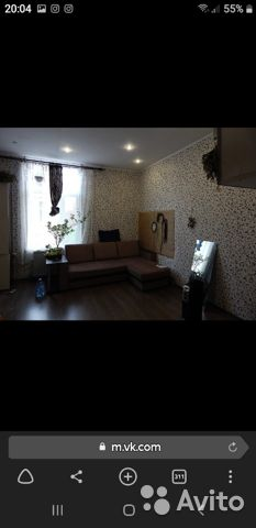 A room of 21 m2 in 2 1/2 FL.
