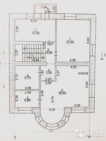 Коттедж 440.6 м² на участке 8.5 сот. 89196751048 купить 6