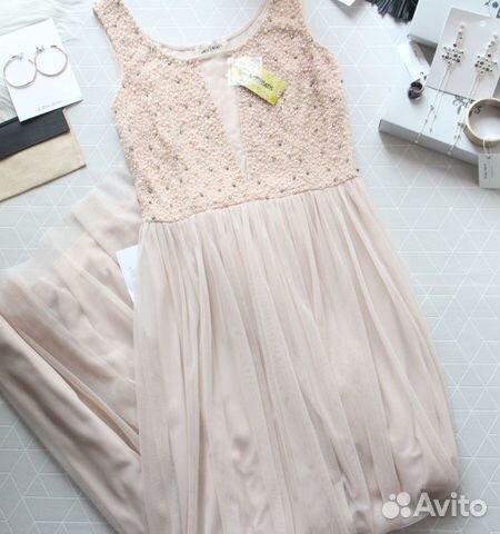 89229092100 Стильное платье lace&beads