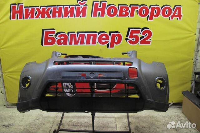 89524408730 Nissan X-Trail (T31) 07-14 бампер передний серый)