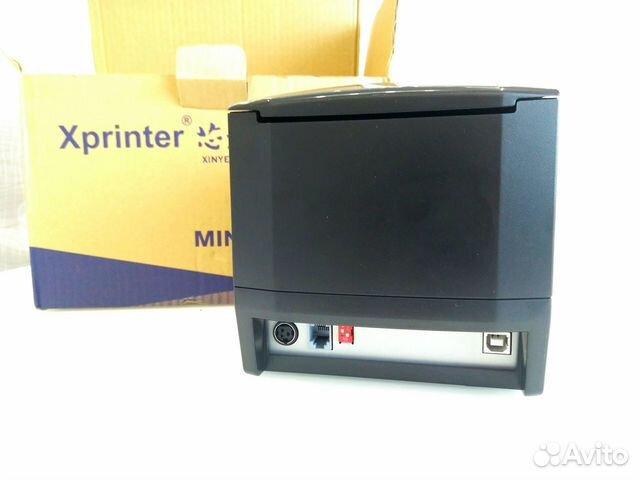 Принтер этикеток и сканер штрихкодов