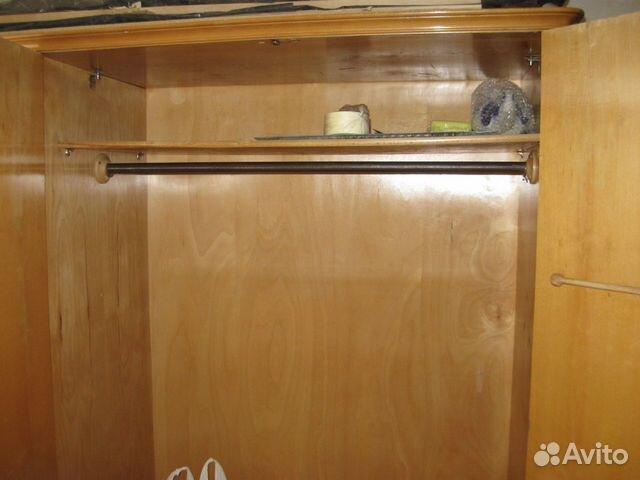 Шкаф трехстворчатый, массив ореха, шпон 89222065121 купить 5