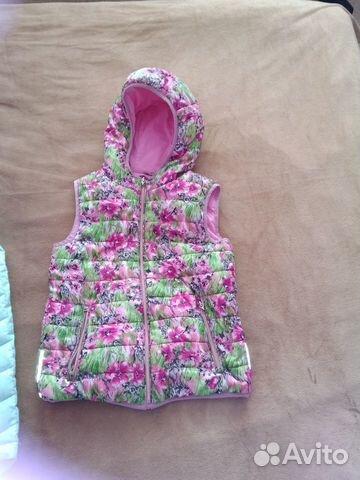 Продаю куртку и жилетку для девочки 89997303112 купить 2