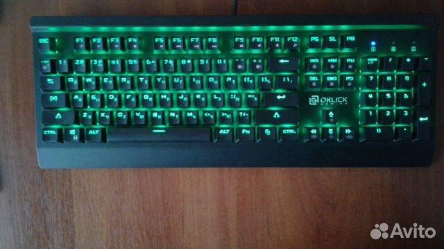 Продам Клавиатуру Oklick 920G iron edge RGB