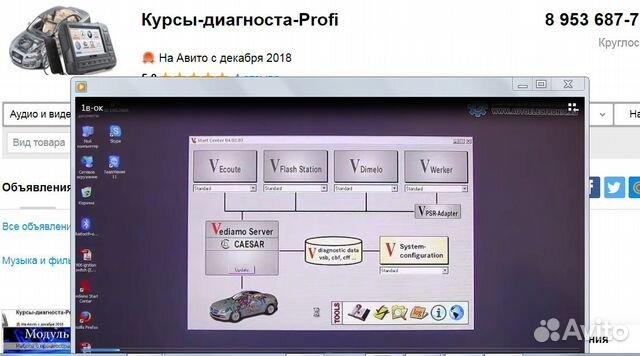 Курс по работе с программой Vediamo купить 2