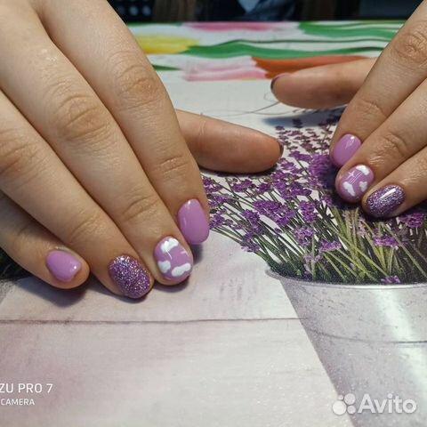 Наращивание ногтей,гель-лак,педикюр  89964133854 купить 5