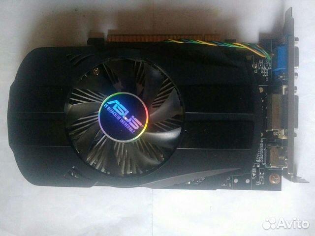 Видеокарта Asus GTX 750Ti 2gb (требует ремонта)  89532737395 купить 1