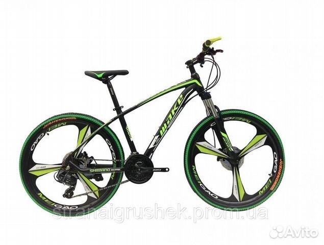 Велосипед горный складной на литых дисках