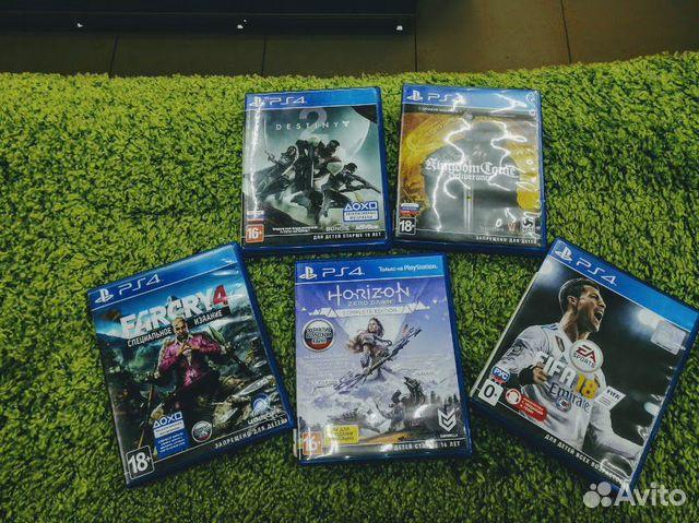 Игры на PS4(ст1б)  89379370217 купить 1