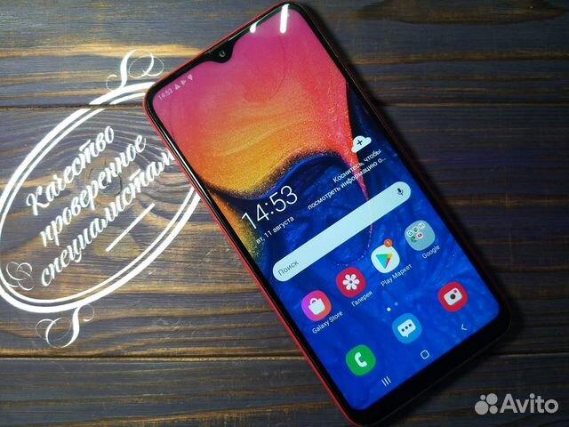 Samsung Galaxy A10 Красный  89148002038 купить 1