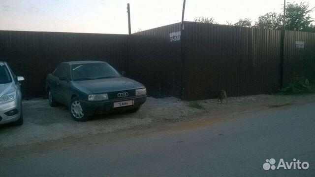 Audi 80, 1987  89969601443 купить 3