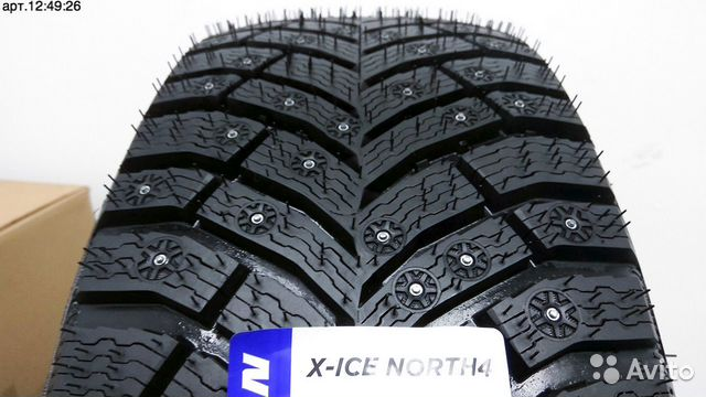 Шины зимние 285/60 R18 Michelin X-Ice North 4  89298181890 купить 2