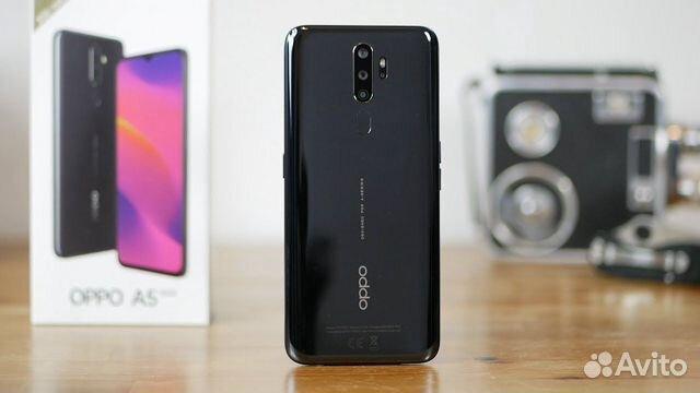 Новый Oppo A5 2020 3/64 черный глянец чек гарантия