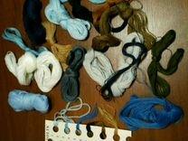 Набор для вышивания крестиком (остатки)