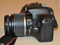 Сanon 550D + объектив 18-55mm — Фототехника в Москве