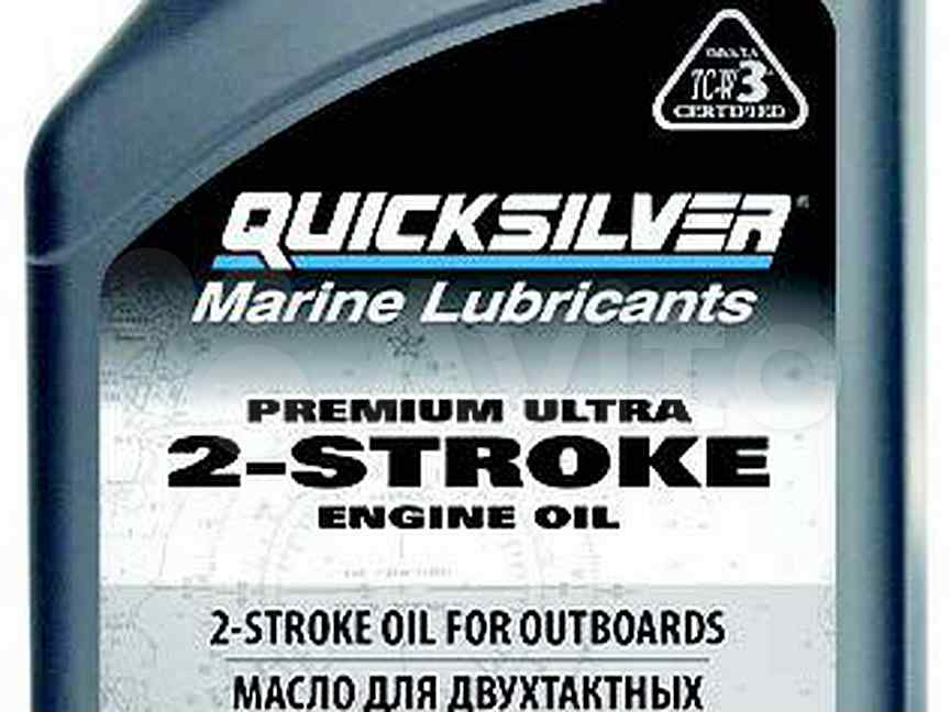 2х тактное масло Quicksilver Premium Ultra