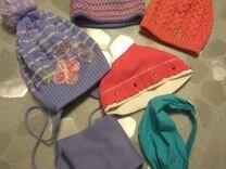 Головные уборы, девочке,шапки,комплекты,бандана