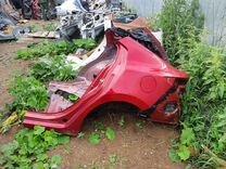 Задняя часть Mazda 3 BM