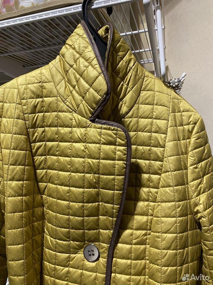Пальто стеганое  89190105157 купить 2