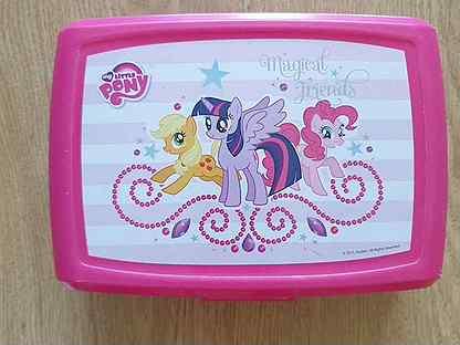 Ланчбокс Литл Пони контейнер для школьных обедов