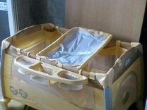 Кровать Манеж двухуровневая