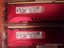 Оперативная память, две плашки по 4гб, для ddr3