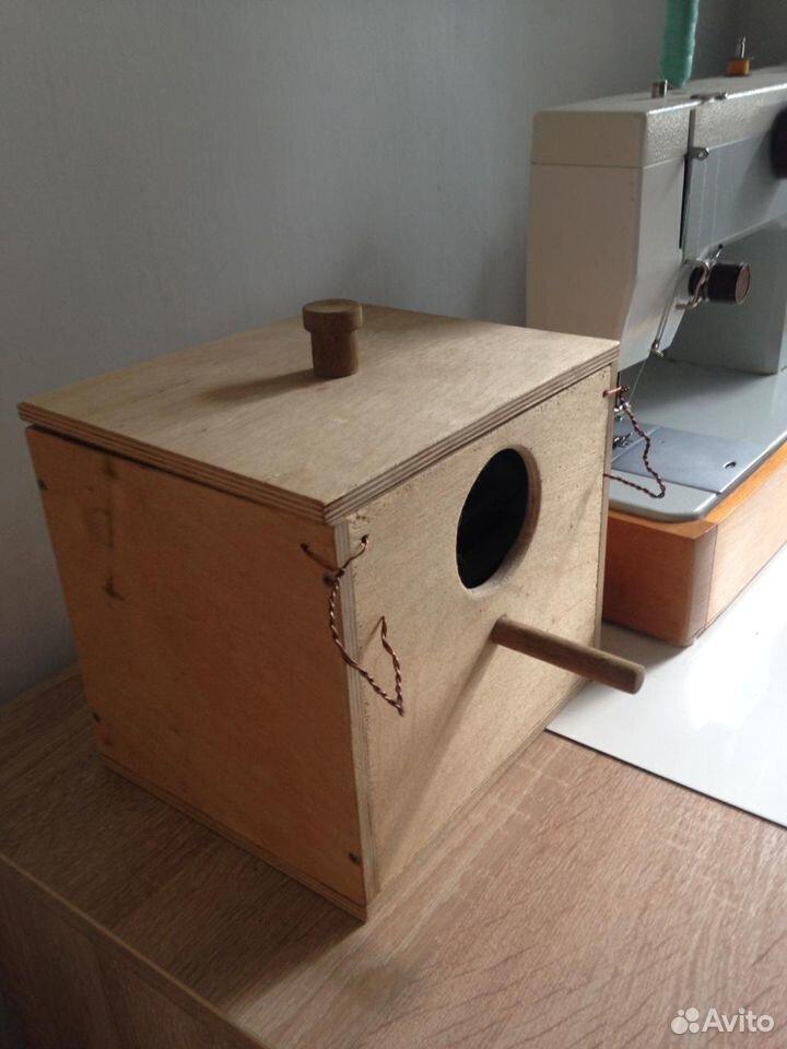 Гнездо для птиц навесное на клетку  89159578501 купить 1