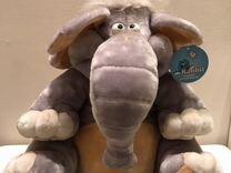 Мягкая игрушка. Большой слон