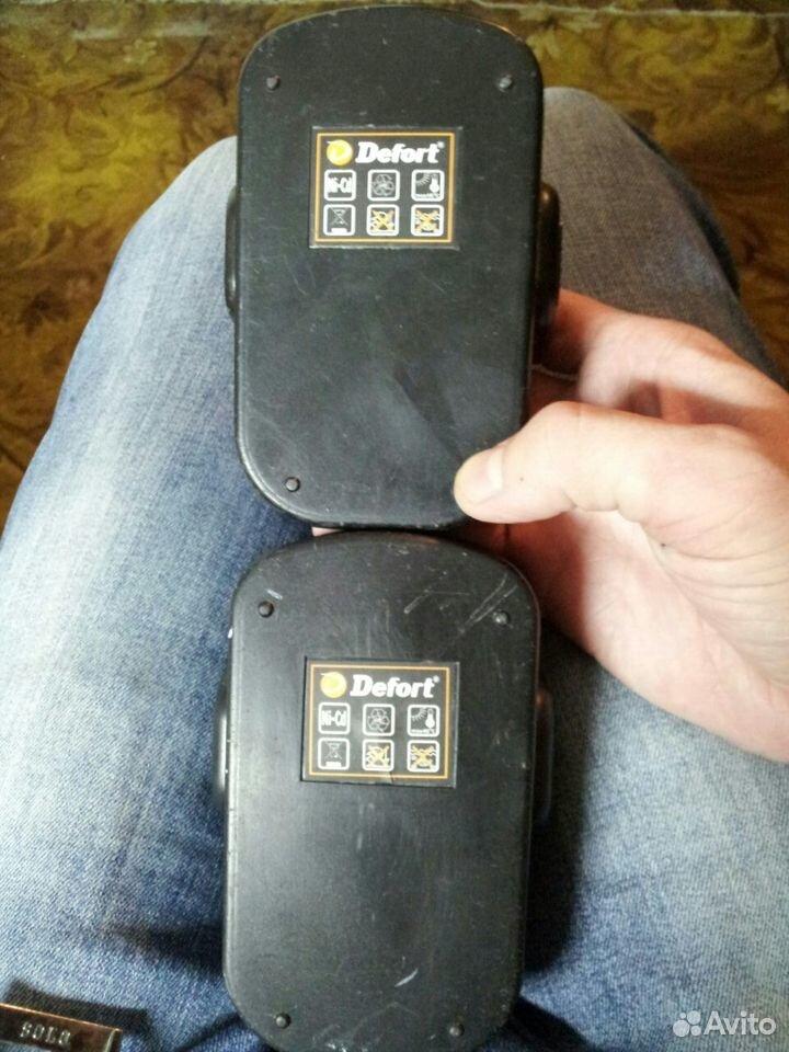 Аккумуляторы для шуруповерта Defort 18v  89520565591 купить 2