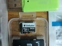 Новые MicroSD 64GB Class 10 и много другого