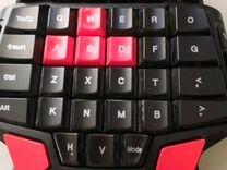 Игровая клавиатура Delux T9 для одной руки проводн
