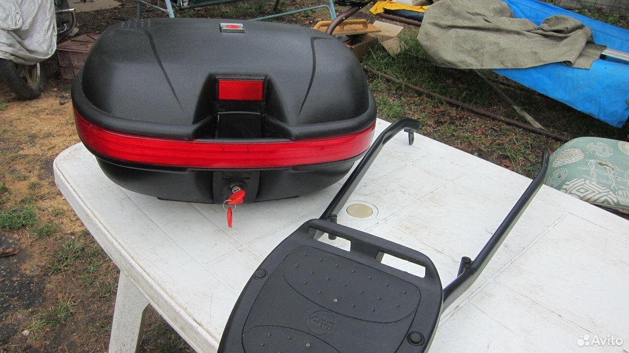 Рамка с кофром на Honda cb 400 vtek 3