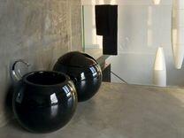 Унитаз с бачком и раковина Disegno Ceramica Sfera