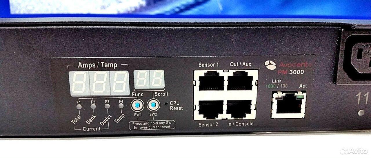 Сетевой фильтр avocent PM 3010V / PM3000 20 outlet