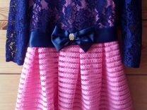 Продам нарядное платье 134 рост